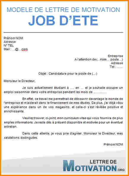 Exemple De Lettre De Motivation Etudiant 3 mod 232 le lettre de motivation 233 tudiant lettre de