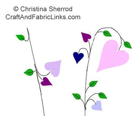 heart vine pattern heart embroidery pattern hearts on vine free machine or