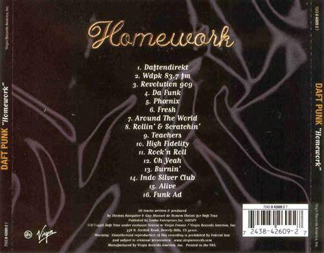 daft punk homework homework daft punk album