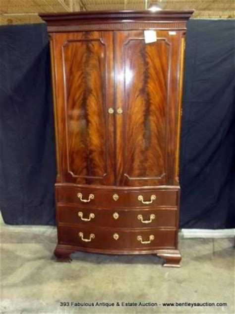 baker furniture armoire burled mahogany entertainment armoire quot baker furniture quot