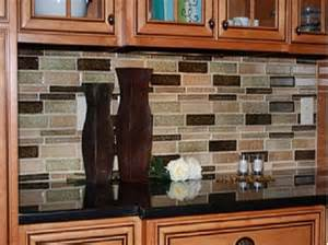 Kitchen Countertop And Backsplash Ideas by Kitchen Granite Countertops Ideas With Mosaic Tile Glass
