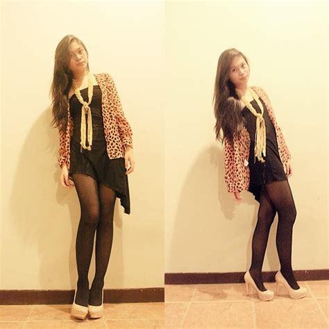 Dress Yunita clara yunita asymmetric black mini dress zara