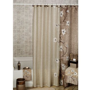 decorated bathrooms with shower curtains 1000 ideas about floral shower curtains on