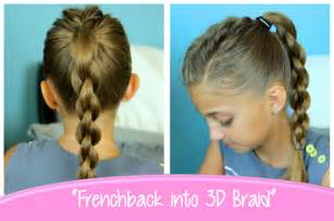 and braids hairstyles single frenchback into round braid back to school