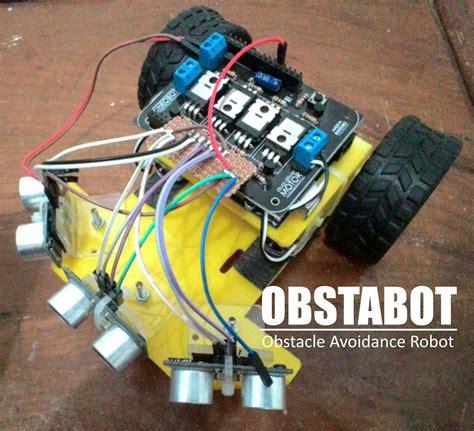 cara membuat robot wall follower mamentronika tutorial 1 membuat obstacle avoidance