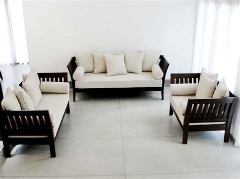 Home Decor Sofa Designs by Wooden Sofa Set Designs For Your Living Room