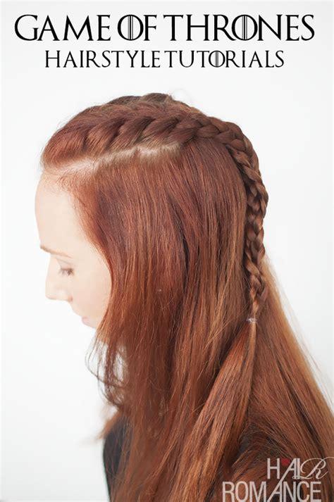 game of thrones hair styles game of thrones hairstyles sansa stark braid tutorial
