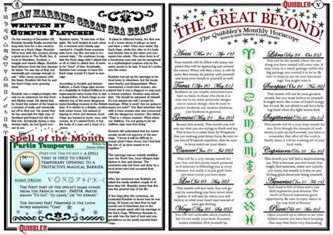 printable quibbler articles articles de hogwartsandcie tagg 233 s quot quibbler january quot il