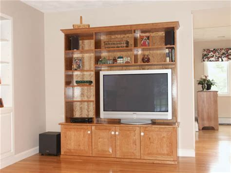 Tv Entertainment Cabinets by Custom Cherry Wood Entertainment Centers Design Ideas