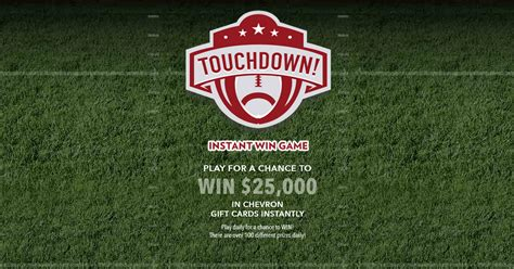 Pick Your Dream Car Instant Win Codes - chevron instant win game win 25 000 in chevron gift cards