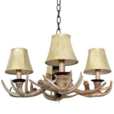 Chandelier Light Kit Copper Faux Antler Convertible Light Kit Or Mini Chandelier