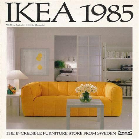 The 1985 Ikea Catalogue Cover Ikea Catalogue Covers Ikea Sofa Catalogue