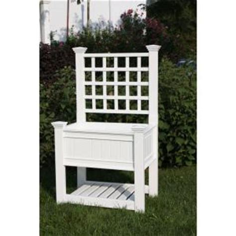Garden Trellis Home Depot new arbors kingsrow 36 in x 26 in white vinyl