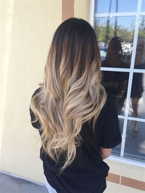 brunette to blonde ombre images best 25 ombre ideas on pinterest ashy balayage