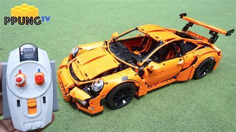 technic porsche instructions technic 42056 rc motorized porsche 911 gt3 rs power