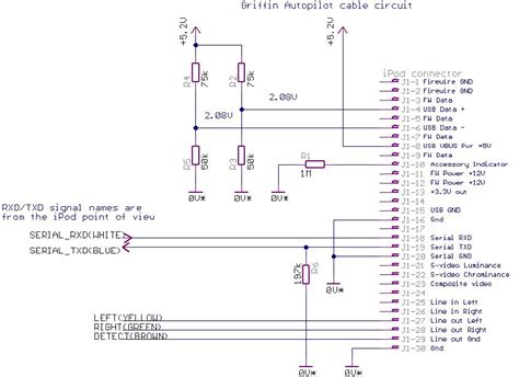 ipod shuffle usb cable wiring diagram get free image