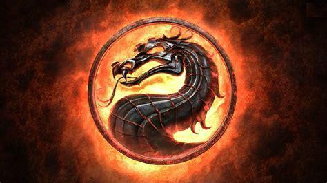 mortal kombat dragon logo game wallpapers desktop
