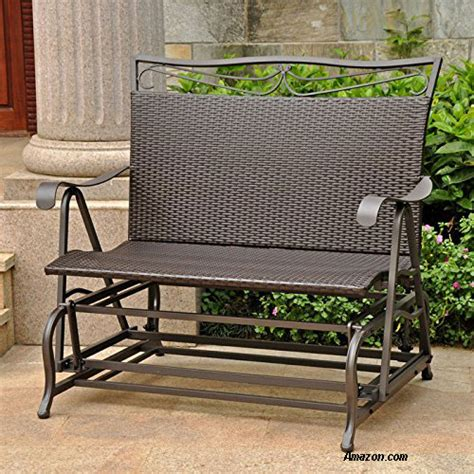 wicker glider patio furniture wicker glider porch glider outdoor furniture glider