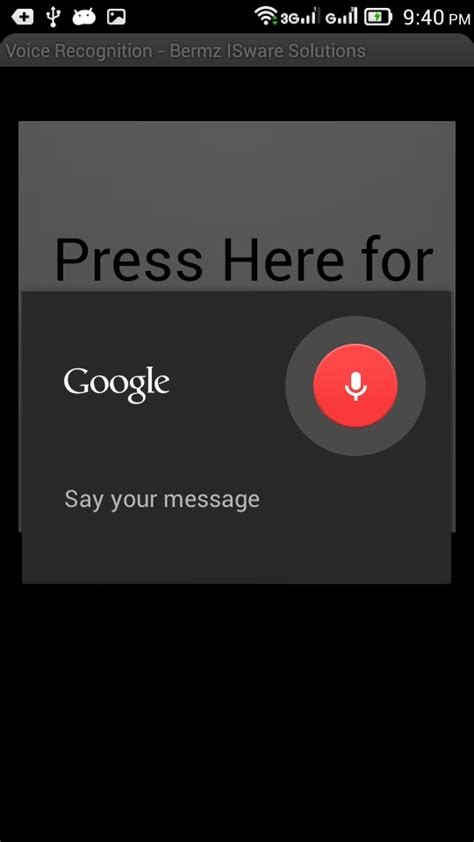 android voice recognition android voice recognition app free source code tutorials and articles