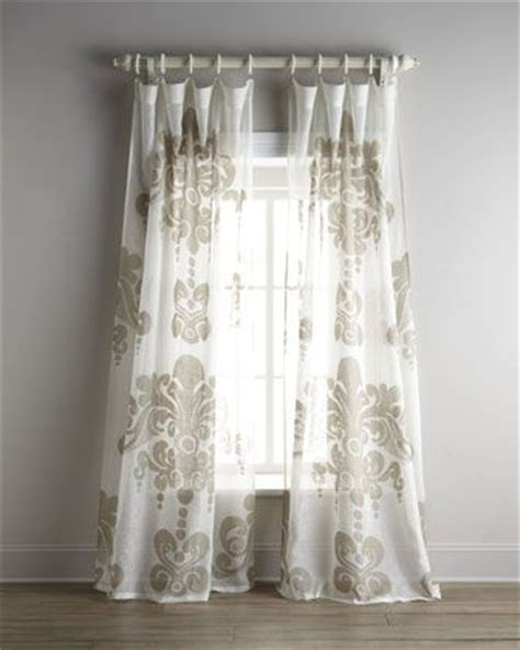 airy curtains quot enchantique quot curtains at horchow featuring an oversized