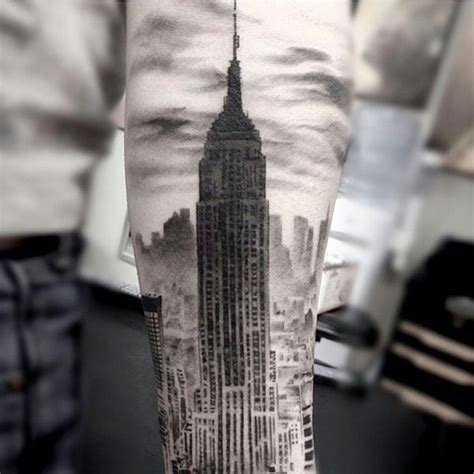 city tattoos designs 1000 ideas about new york on skyline