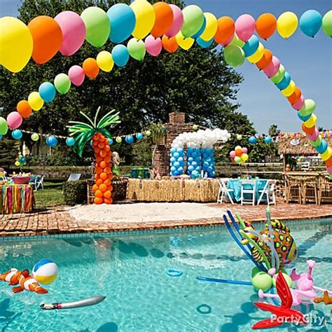 summer party decorations summer party table decorations interior home design