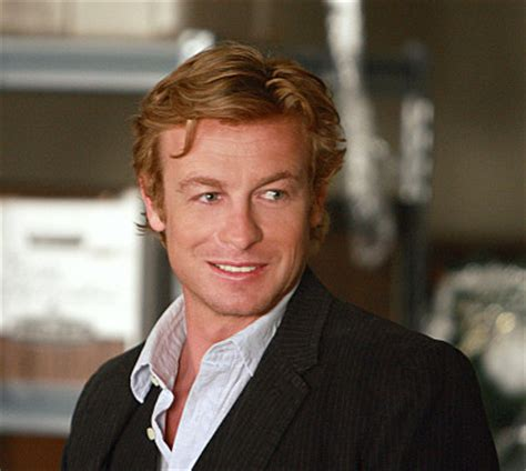 blond hair actor in the mentalist simon baker on the mentalist and working with scorsese