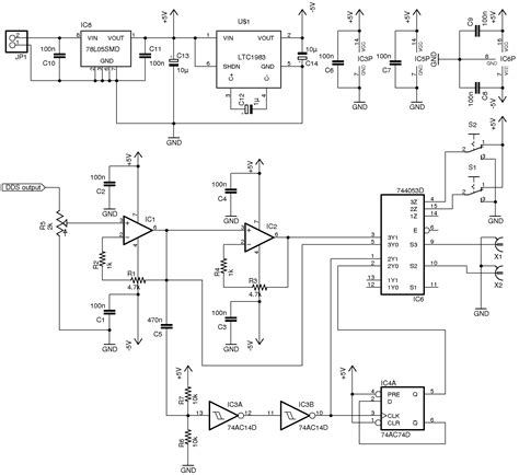 Ic Op Ad827 Ad827jn Ad827jnz dds function generator dgk electronics lifier schematic