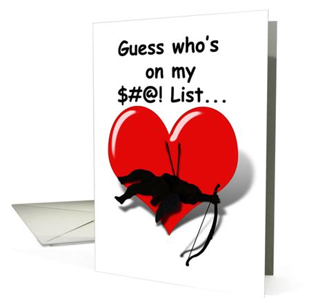 when misery company vinegar valentines cards at