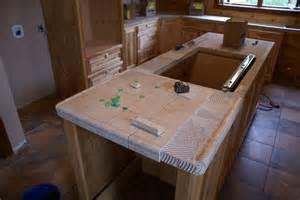 Tiled Kitchen Countertops Bend Retreat Romney West Virginia Kitchen Counter Tops Tiled