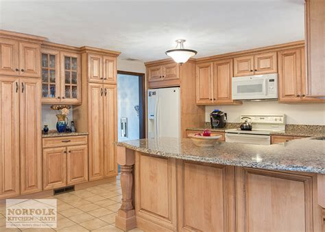 Tall Kitchen Pantry Cabinet Furniture tewksbury kitchen remodel with maple cabinets walnut glaze