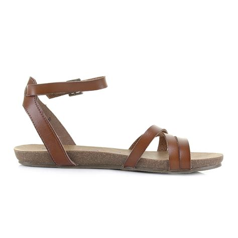 blowfish sandals womens blowfish galie scotch ankle flat sandals sz