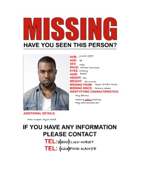 missing person ad template ds106 assignments missing person