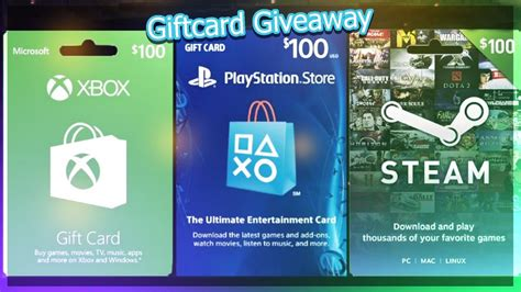 Psn Gift Card Giveaway - closed 20 xbox steam psn gift card giveaway youtube
