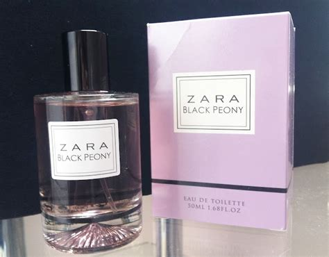 Parfum Zara in with zara black peony perfume hair make up