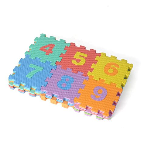 Large Foam Play Mat by 36 Large Interlocking Foam Alphabet Letters Numbers