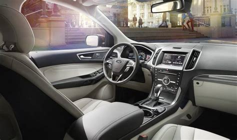 2015 Ford Edge Sport Interior by 2015 Ford Edge Debut In 200 Photos Standard Ecoboost