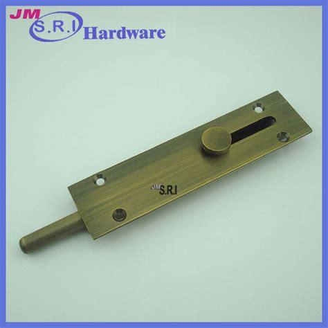 modern brass floor l modern brass surface mounted floor door lock bolt view