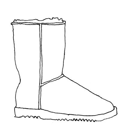 how to draw a boat hard uggs drawing