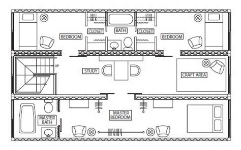 homes from shipping containers floor plans minha casa container plantas de casas containers para