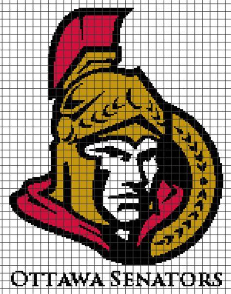 knitting lessons ottawa ottawa senators chart graph and row by row written