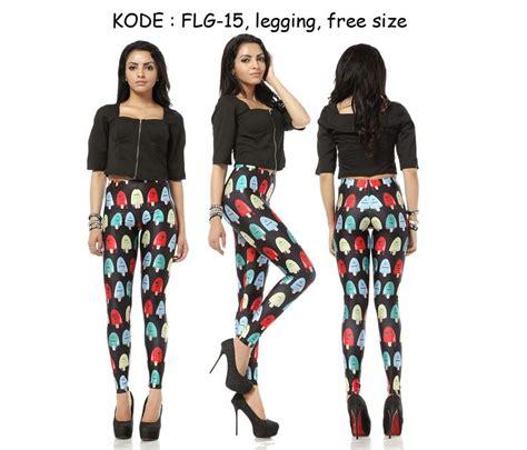 Celana Vja74 Pelangi Legging Fashionmurah flg15 90rb jual celana legging aerobik bisa buat