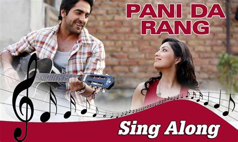 Pani Da Rang Full Song | pani da rang male full song with lyrics vicky donor