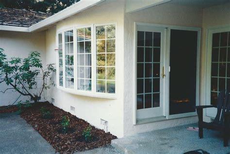 andersen bow windows advanced window systems belmont 591 5253 andersen vinyl clad bow window and frenchwood door in