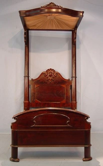 half tester bed mahogany half tester bed brings 30 000 to green gables auction