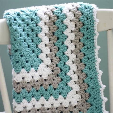 new fast easy crochet patterns for blankets and throws for 2015 sea spray granny baby blanket