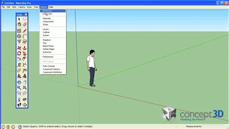 sketchup templates sketchup tips and tricks choosing and creating a template