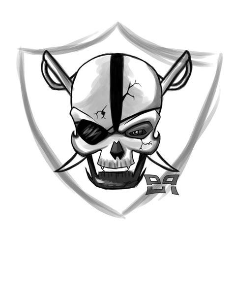 raiders logo drawing  getdrawings
