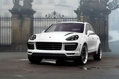 porsche suv white white porsche cayenne vantage by topcar is not an aston