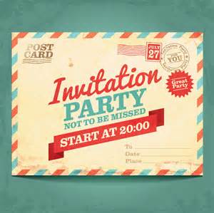 adobe illustrator postcard template invitation postcards vector free vector in adobe